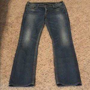 SUKI Silver Jeans 34x34
